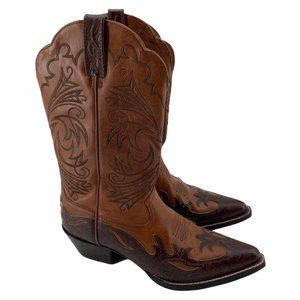 ARIAT CONGAC WESTERN COWGIRL POINT TOE BOOTS 7B